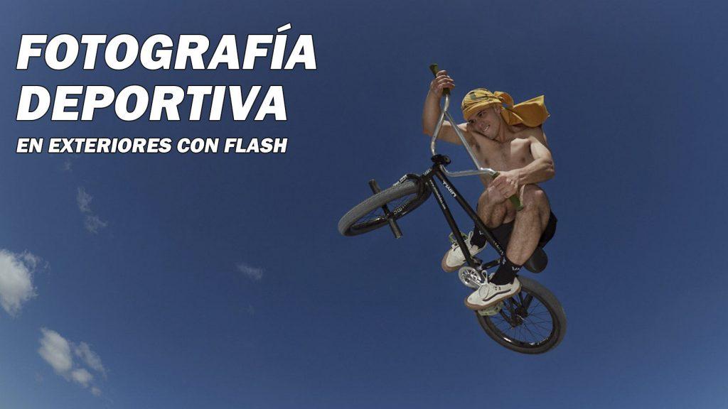 fotografia deportiva con flash